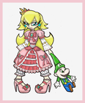 Gothic Lolita ::Princess Peach:: by Prepare-Your-Bladder