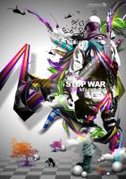 STOP WAR lets play art by arthyper