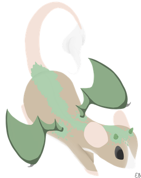Rat Dragon by EmilieArts