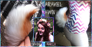 Caramel Fawn Tail~ by QueenAyria