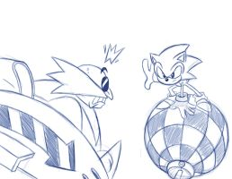 Sonic Boss Fight 1 WIP by rongs1234