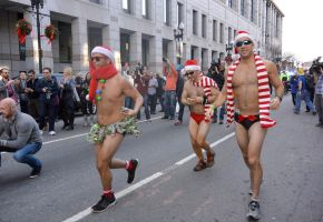 2015 Santa Speedo Run, Off In A Sprint 6 by Miss-Tbones