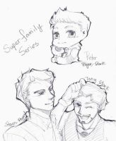 [doodles] Super Family 02 by joker4msy