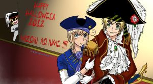 +Gift+ HAPPY HALLOWEEN KAIZOKU-NO-YUME! by GueparddeFeu