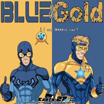 [Earth-27 Rosters] Blue and Gold by Roysovitch