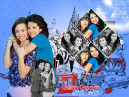 Selena and Demi by Forever-editt