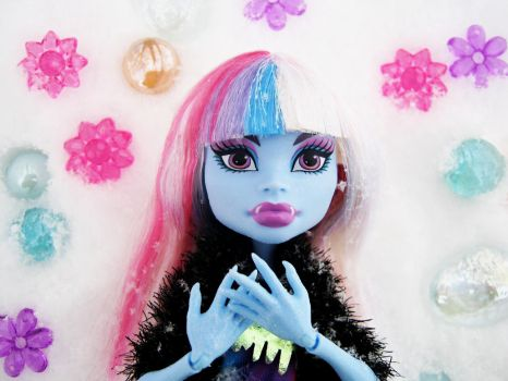 Monster High Abby Bominable -- Abominable Snowgirl by paulafrye
