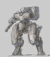 mecha sketch 2 by ProgV