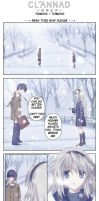CLANNAD Tomoyo ARC comic by Kovaneer
