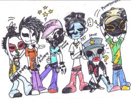 --HollyWood Undead-- by Cynical-SunShine