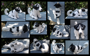 Sculpture of my dog by Maquenda