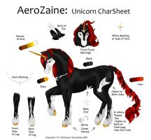AeroZaine the Unicorn Sheet by Aerozaine