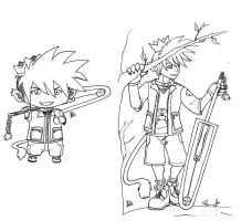 Original Sora design by RhiaKolareny
