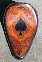 Ace of spades solo seat by leatheroo