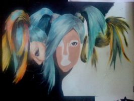 Hair WIP by turanneth