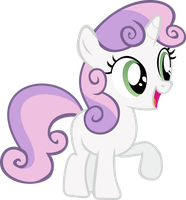 Happy Sweetie Belle by uxyd