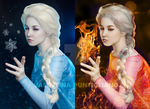 Scorched | Elsa from Frozen. by Pinbu
