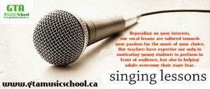 Voice Lessons in Mississauga by gtamusicschool