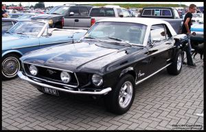 1968 Ford Mustang by compaan-art