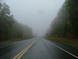 Drive into the Mist II by depthsofspace