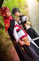 Judal and Kouen 02 by LauzLanille