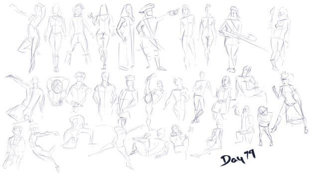 Figure exercises - Day 79 by Dante-mL