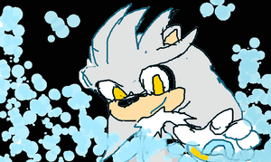 Silver the hegdehog by Jelaniwatts1