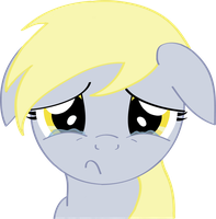 You made Derpy cry :C by PureImmaturity