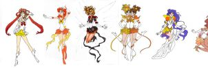 The Sailor Sun Project (update June 23rd 2013) by goddessredd