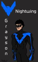 Grayson, Nightwing by cthu