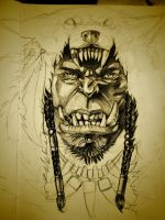 Durotan from warcraft by mojo123s