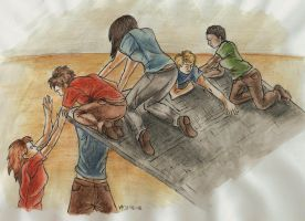 The Gladers by VixSky