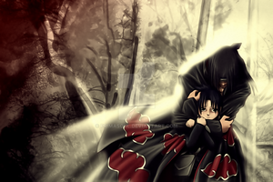 Uchiha Itachi - Brother in arms by PrimaSoul