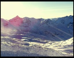 Les Deux Alpes - Shinning by TheHer3tic