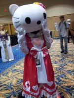 Hello Kitty at Metrocon 2011 by Vonabell