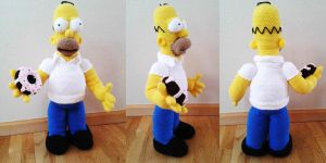 Homer Simpson by AmaniWarrington
