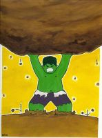 Hulk: Strongest One There Is by djlegaspi