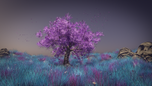 Pink Tree  -  final version by FeindBlut