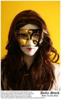 Masked Woman.4 by Della-Stock