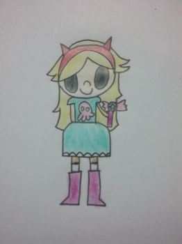 Star Butterfly by RandomnessUnlimited