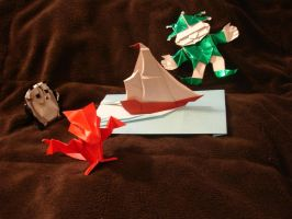 License to Fold Collection I by origami-artist-galen