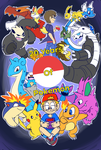 20 Years of Pokemon by Jurassiczalar