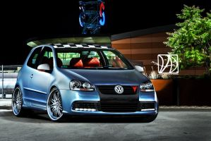 Volkswagen Golf V Virtual Tuning by UAD-Team