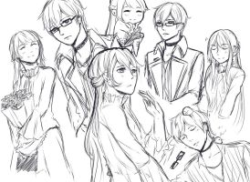 sketch page for Mg3-Kiryu by Michikoreto