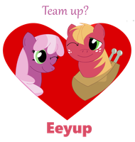 Team Up? by friesianloverl2K