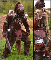 Ork Hunter's armour by ArtisansdAzure