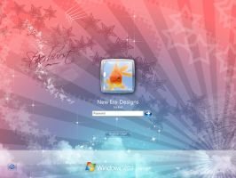 Starburst Vista Logon by MindVisionGraphics