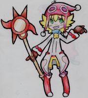 Red Amitie... Again... by 1Apple-Fox1
