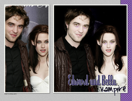 Edward and Bella vampire by d3bbyeglitter