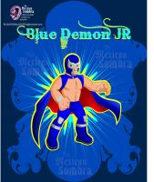 BLUE DEMON JR TRIBUTE by TheMexicanSombra